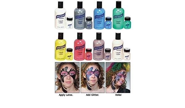 Buy Liquid Latex - Colored - 8 oz. - Blue Online at Low Prices in ...