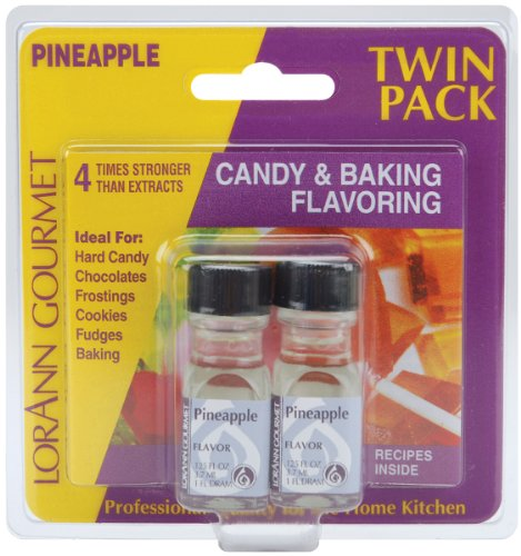 Candy & cottura aroma.125 oncia bottiglia 2/Pkg-ananas