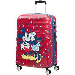 Disney Disney Wavebreaker - Spinner 67/24 Equipaje de mano, 67 cm, 64 liters, Varios colores (Minnie Loves Mickey)