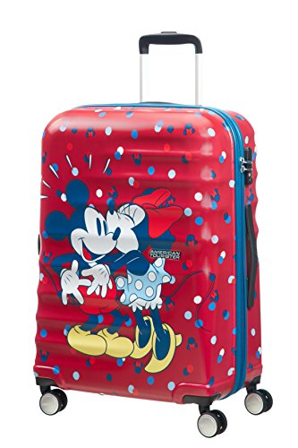 disney Wavebreaker Spinner Koffer, 67 cm, 64 L, Minnie Loves Mickey