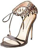 Primadonna Sandalo, Scarpe con Cinturino alla Caviglia Donna, Nero, 38 EU