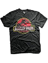 4b5cb73cdfb3 Jurassic Park T-Shirt Logo Maglia Maglietta – Ufficiale Originale
