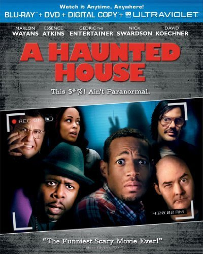 A Haunted House [Blu-ray] by Marlon Wayans (Haunted-house-film)