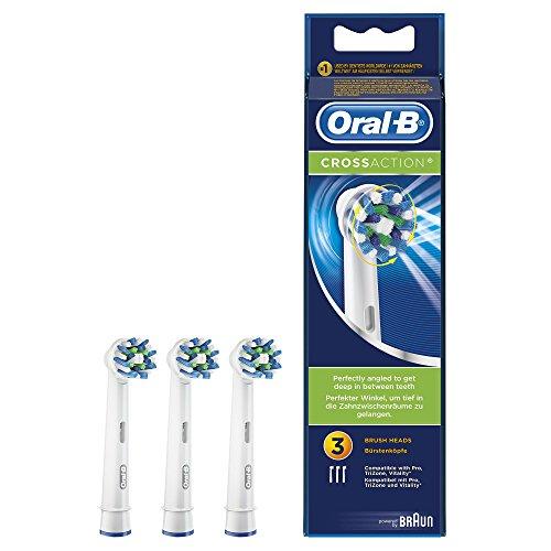 Oral-B CrossAction Aufsteckbürsten, 3 Stück