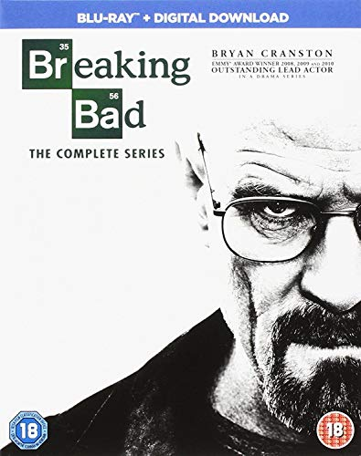 Breaking Bad: The Complete Series [Region Free] [Reino Unido] [Blu-ray]