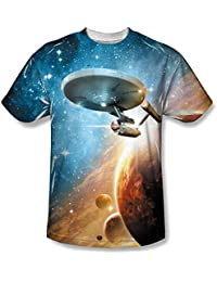 Star Trek Final Frontier Sublimated Adult T-Shirt