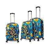 Medidas de las maletas: Maleta grande de 70 cm. 48x 69x 30cm. Maleta mediana de 60 cm. 42x 59 x 26 cm. Maleta pequeña.34 x 50 x 19 cm