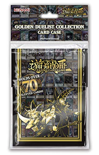 Lively Moments Yu-Gi-Oh! Sammelkarten Deck Box Golden Duelist / Card Case / Aufbewahrungsbox Yu Gi Oh