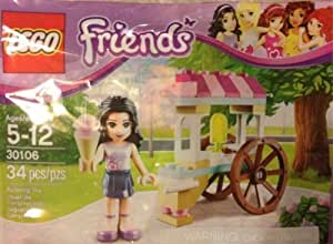 Lego Friends Polybag 30106 Emma with Ice Cream Cart Stand by LEGO TOY (English Manual)