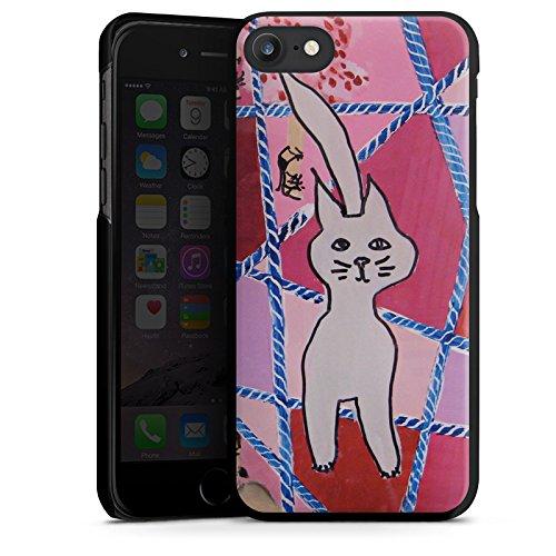 Apple iPhone X Silikon Hülle Case Schutzhülle Katze Cat Kitty Hard Case schwarz