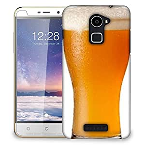 Snoogg Beer Glass Designer Protective Back Case Cover For COOLPAD NOTE 3 LITE