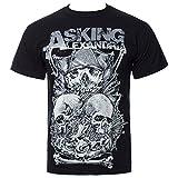 Asking Alexandria Skull Stack T-Shirt black