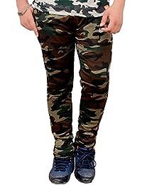 Men's Army Lower & Track Pant - GYM Running Sports Nightwear Pants