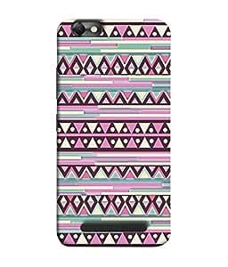 PrintVisa Designer Back Case Cover for Lenovo Vibe C :: Lenovo A2020 (Jaipur Rajasthan Tribal Azitec Mobiles Indian Traditional Wooden)