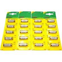 T & E - Lote de 5 pilas alcalinas (23 A, 12 V)