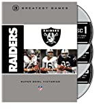 Oakland Raiders 3 Greatest Games: Super Bowl Victories NFL DVD