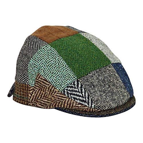 358fc92a1428c Hanna Hats Donegal Vintage Cap Patchwork für Kinder, (Large)