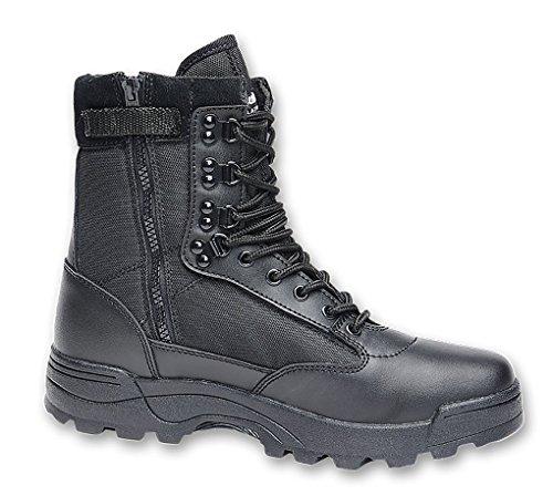 BRANDIT Scarponi Stivali Anfibi uomo unisex Trekking Tactical Zipper Boots 41