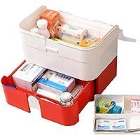 Mizii Medizinkasten Familie Multi-Funktions-Mehrweg-Medikamentenbox Große Medizin-Aufbewahrungsbox Mit Schubladen... preisvergleich bei billige-tabletten.eu