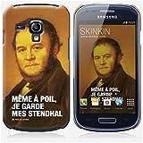 Coque Samsung Galaxy S3 mini de chez Skinkin - Design original : Stendhal par Fists et Lettres