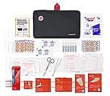 Botiquín primeros auxilios SUPER ROL con 120 artículos indispensables para realizar curas de...