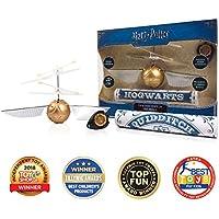 J.K. Rowling's WW-1001 Wizarding World - Bola  de «Snitch» con hélices voladora Dorada