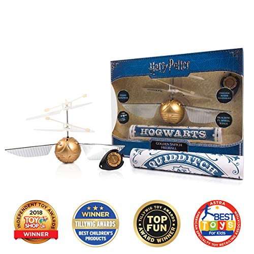 Wow! Stuff Collection Harry Potter Goldener Schnatz - Prämierter Fliegender Ball -