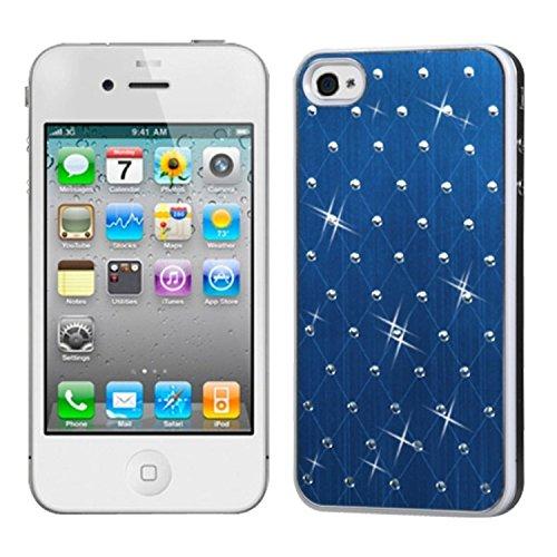 MyBat Schutzhülle für Apple iPhone 4s/4, blau