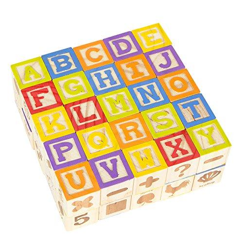 ColorBaby - Rompecabezas de madera & abecedario - 50 piezas (43603)