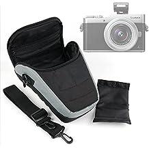 Etui housse de rangement pour Nikon D5600, Panasonic GF9 / Lumix DC-FZ82 / DC-GH5 / DC-GX850 / DMC-FZ80/HZ82, G DC-GX800 appareils photo et leurs accessoires - lanière de transport BONUS