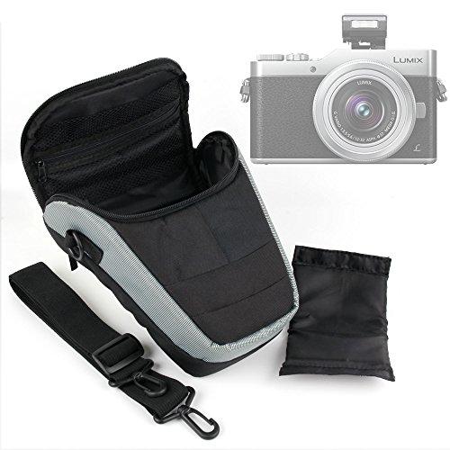 DURAGADGET Etui Housse de Rangement pour Nikon D5600, Panasonic GF9 / Lumix DC-FZ82 / DC-GH5 / DC-GX850 / DMC-FZ80/HZ82, G DC-GX800 appareils Photo et Leurs Accessoires - lanière de Transport Bonus