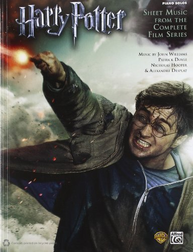 Harry Potter -- Sheet Music from the Complete Film Series: Piano Solos by Williams, John, Doyle, Patrick, Hooper, Nicholas, Desplat, A (2012) Sheet music