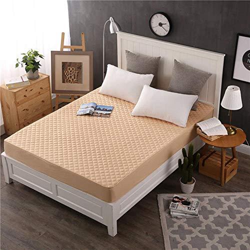 CA Bett-Abdeckungs-Baumwollmatratzen-Schutz, Bett-Rock-Matratzenschoner mit festem Band-Normallack für Haupthotel
