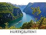 Hurtigruten 2020 - Norwegen - Bildkalender XXL (64 x 48) - Landschaftskalender - Postschiffe - Naturkalender - Wandkalender