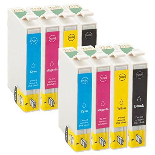 Preisvergleich Produktbild 8 win-tinten Kompatible Druckerpatrone als Ersatz für Epson stylus SX215 SX310 SX315 SX400 SX405 SX410 SX415 SX510W SX515W SX600FW SX610FW B40W BX300F