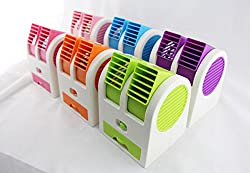 BiabaCollection Mini Portable Air Conditioner Cooling Fan Its A Very Eco-Friendly ( Free Credit Card Holder)