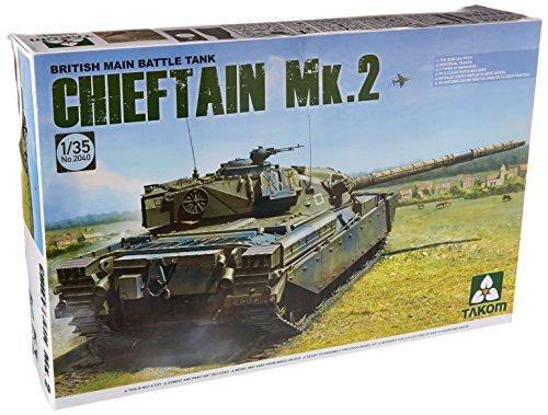 TAKOM de tak, 2040-Tanque de Batalla Principal de Modelo Kit británico Chieftain MK. 2
