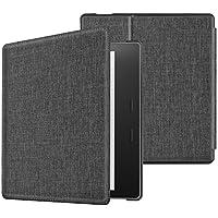 Fintie Kindle Oasis 2017 Custodia - Ultra Sottile Leggero Supporto Custodia Protettiva Cover Con Auto Funzione Sonno/Sveglia per Amazon Kindle Oasis (9ª generazione, versione 2017), Sandstone Fabric
