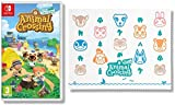 Animal Crossing New Horizons - Nintendo Switch Standard Edition + Animal Crossing Microfibre Cloth (Exclusive to Amazon.co.uk)