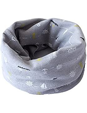 Fletion Kinder Jungen Mädchen Winter Warme Baumwolle Schals Unisex Baby Baumwollschals Rundschal Loop Halstuch...