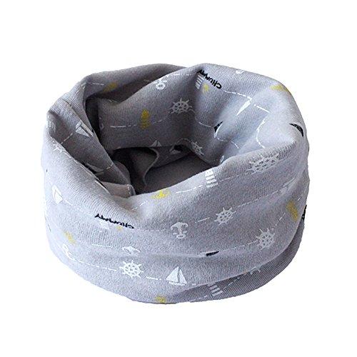 Fletion Kinder Jungen Mädchen Winter Warme Baumwolle Schals Unisex Baby Baumwollschals Rundschal Loop Halstuch Hals wärmer EINWEG Verpackung - Hals-wärmer-muster