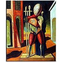 TTKX@ Pintado A Mano Pintura Al Óleo Impresiones De La Pared Pintura De Pared para Salón Decoraciones Arte De La Pared, 50X70 Cm, Blanco