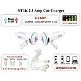 Stok Ucc-109 Dual Port Car Charger For All Smartphones And Tablets
