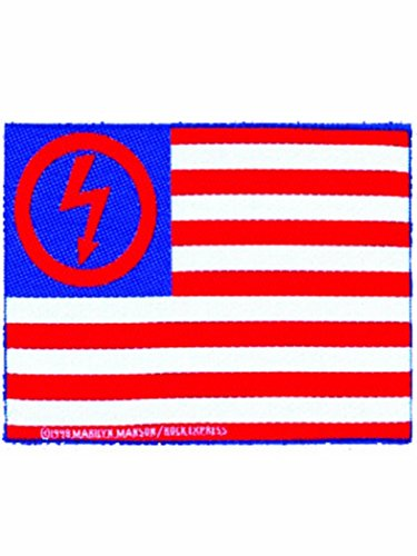 Logo Marilyn Manson Bandiera