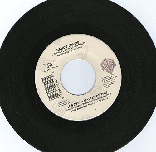 It's Just A Matter Of Time / This Day Was Made For You And Me [Vinyl Single 7''] (Randy Travis-vinyl-records)