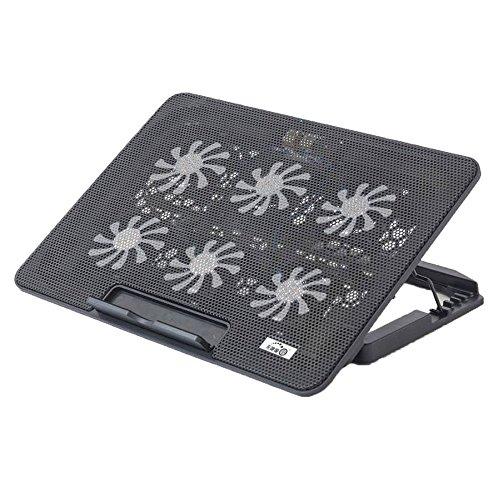 NQFL Laptop-Ständer GWDZX Desktop-Zervikale Wirbelsäule Büro-Computer-Racks Lift Tragbar Bracket Radiator Erhöhte Auflage,Black-36*25.5*27cm
