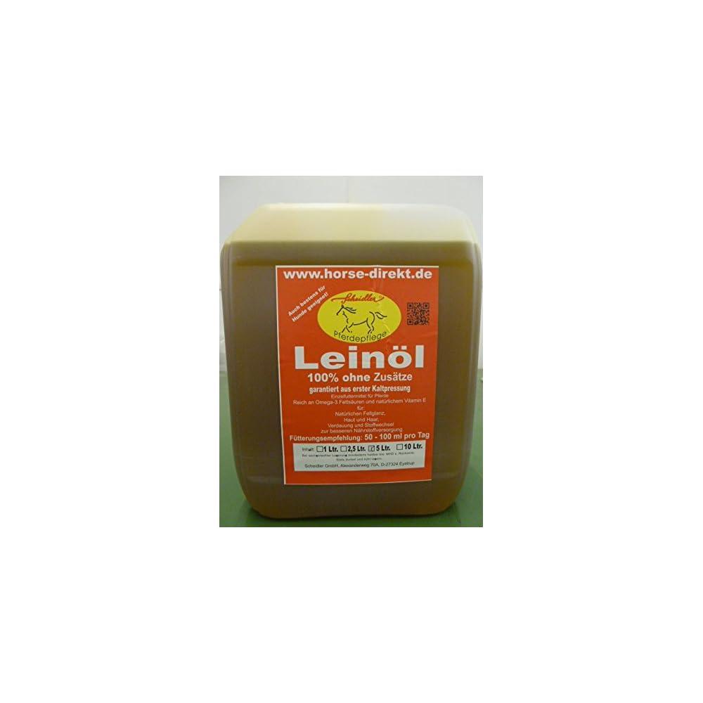 Leinl Aus Erster Kaltpressung 5 Liter