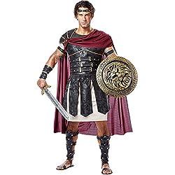 California Costumes Disfraz de Gladiador Romano para Hombre Talla M