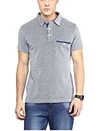 Yepme Men's Poly Cotton T Shirt - YPMPOLO0383-$P