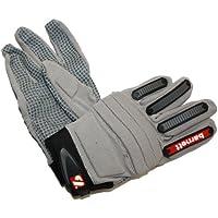 FLG-02 Fit linemen football gloves, OL, DL, Grey, barnett